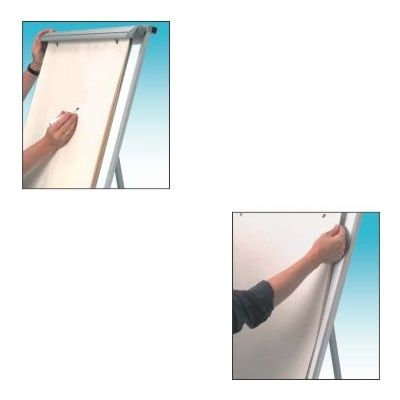 Board, Flip Chart Board, (60x90cm), with stand, White