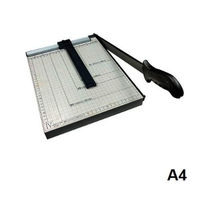 Paper Trimmer, Best Result,  Paper Cutter No#829-4, 5 Pages, Table Size: 300 x 250 mm, A4