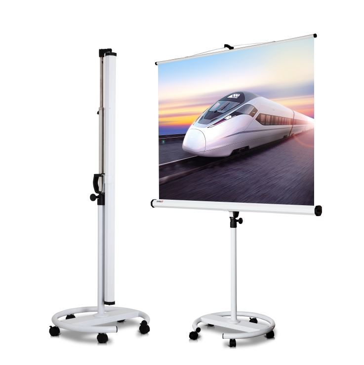 Screen, COMIX, PWxxx, Projection Screen, Moveable, 150 x 150 mm, White