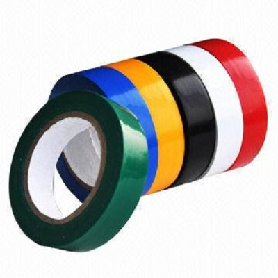 Tape, SIMBA, Electrical Tape, 0.75 inch (1.9 m), Assorted Color, 10 PC/Pack