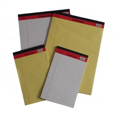 Notepad, SINARLINE, Legal Pad, A4 (21x29.7cm), 40 Sheets, 10 Pcs/Pack, White