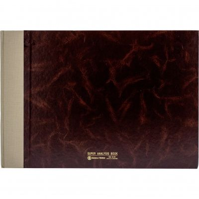 Notebook, Bassile Freres, Analysis Book, 32 Columns, B3 (25.00 cm X 35.00 cm), 100 Sheets