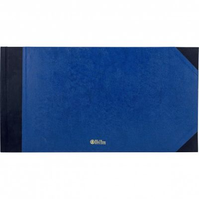 Notebook, Bassile Freres, American Journal Book, 10 Columns, 65.00 cm X 35.00 cm, 100 Sheets
