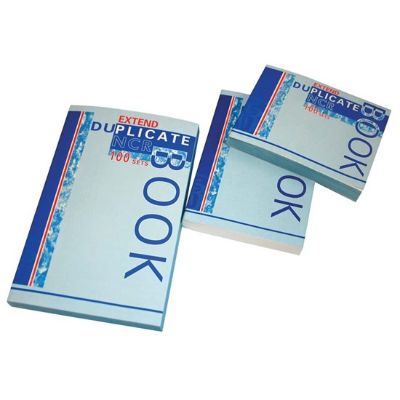 Notebook, Bassile Freres, Duplicate Book , Duplicate + Carbon Paper, 13.50 cm X 10.50 cm, 100 Sheets