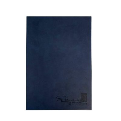 Notebook, Bassile Freres, Signature Book, 18 Dividers, A4, Assorted Color