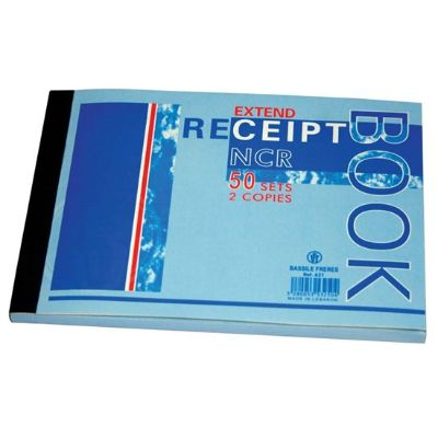Forms, Bassile Freres, Receipt Book, 2 Copies, B6, 50 Sheets