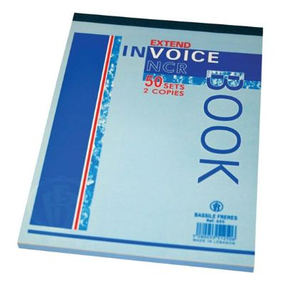 Forms, Bassile Freres, Invoice book , 2 Copies, B5, 50 Sheets