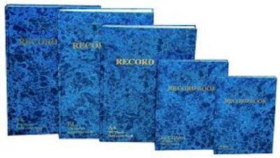 Notebook, SIMBA, Record Book, A5, 200 Pages