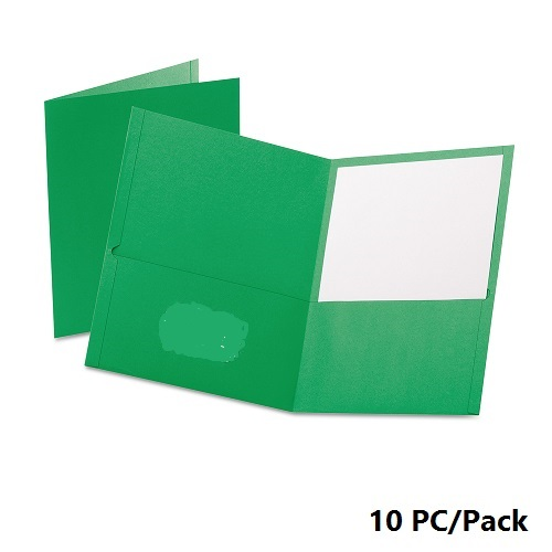 Documents Covers, Bassile, File, 2 pocket, A4, Light Green , 10 PC/Pack