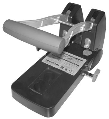 Paper Puncher, STD, P-1500, Heavy Duty, 2 Holes Punch, 150 Sheets