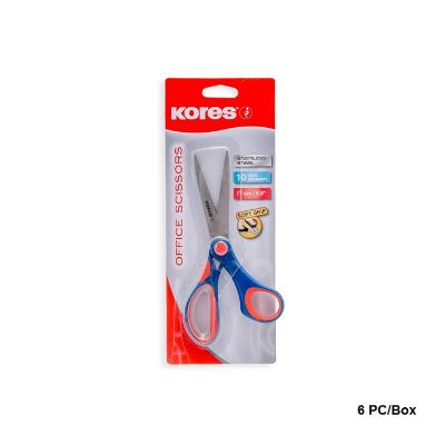 Scissors, KORES, Size: 6.5 in, 6 Pack/ Box