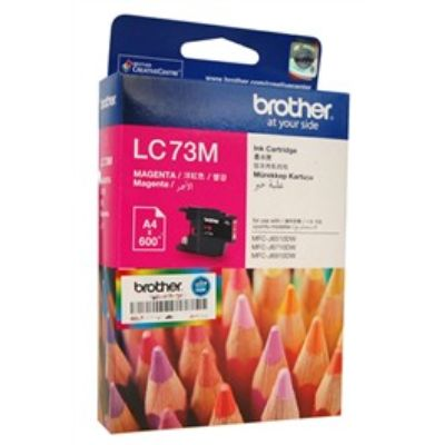 Brother LC73 Magenta Ink Cartridge (LC73M)