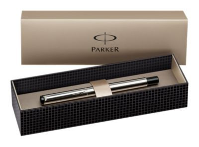 Executive Pen, PARKER, Vector, Rollerball, Stainless Steel Sliver