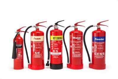 Fire Extinguishers, HEBA, ABC Dry Chemical, For Car Usage, 1 KG