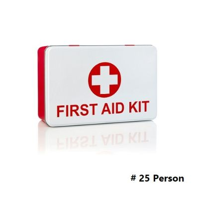 Safety Zone, HEBA, First Aid Kit, For 25 Person