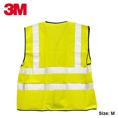Safety Zone, 3M, Safety Vest, Yellow, Size: M