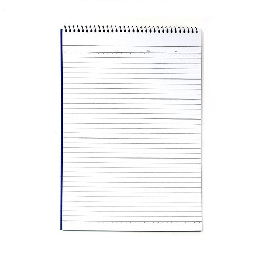 Notebook, SIMBA, Notepad TOP,  A7, 50 Sheets, 12 Pc/Pack, White