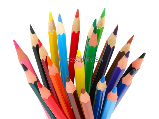Pencils, SIMBALION, Coloring Pencils, Steel Box, 24 Colors/Pack