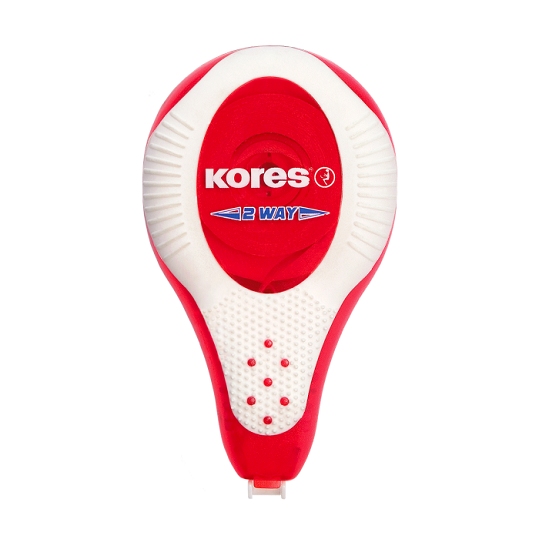 Correction Pen, KORES, Correction Tape, Tape Size: 8m x 4,2mm, White, 10 PC/Pack