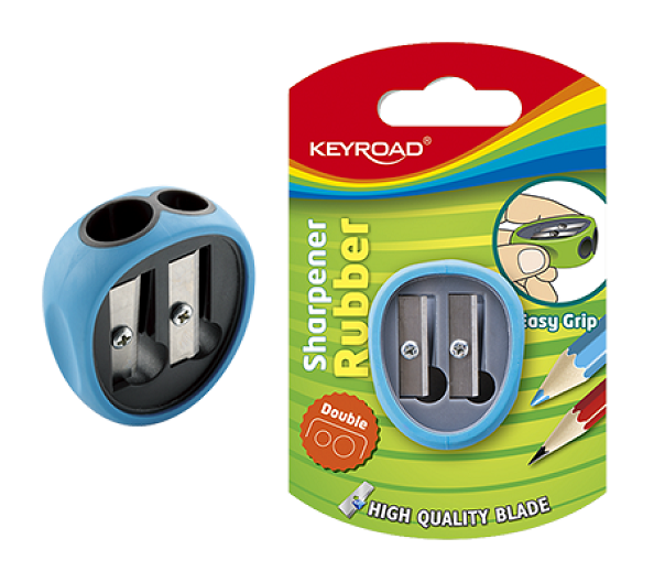 Sharpener, KEYROAD, Soft Grip with Two Holes