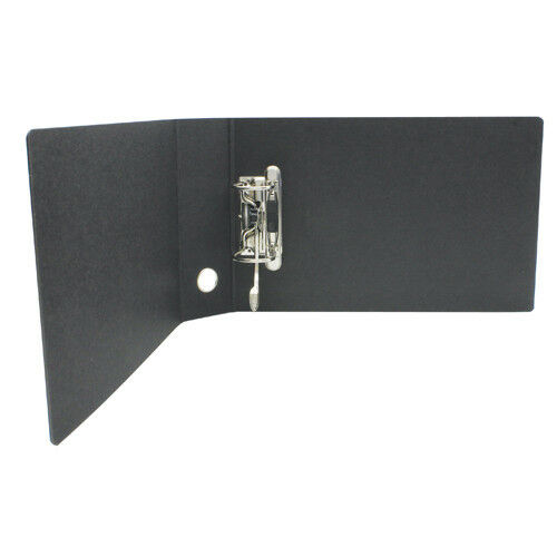 Box File, Extent, Lever Arch File, 2-Ring Binder, 50mm, A5, Black