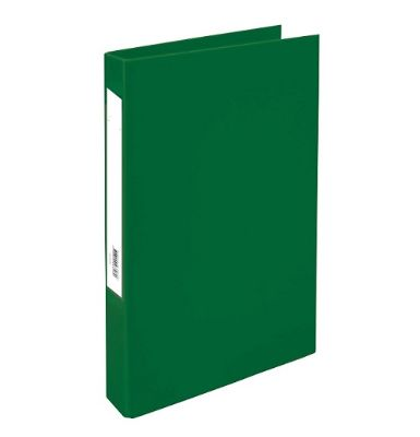 Box File, KENT, Lever Arch File, 2-Ring Binder,Cardboard , 50mm, A4, Green