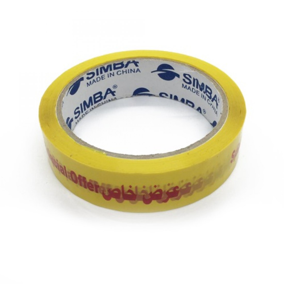 Tape, SIMBA, Packaging Tape, Special Offer Tape, Yellow, 12 PC/Pack