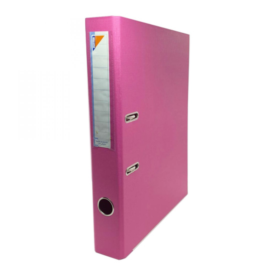 Box File, MINTRA, Lever Arch File, 2-Ring Binder,Cardboard , 50mm, A4, Pink