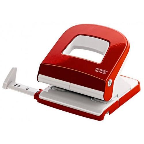 Paper Puncher, NOVUS E225, 25 Sheet, Red