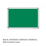 Boards, Chalkboard, (45x60cm), Wall mounted, Green