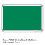Boards, Chalkboard, (60x90cm), Wall mounted, Green
