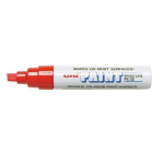 Paint Marker, Uni-Ball, PX-30, Chisel Tip, 4.0 - 8.5mm, Red
