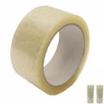Tape, SIMBA, Packaging Tape, 2 inch (5.08 cm) x 100 yd ( 91.4 m), Transparent, 12 PC/Pack