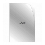 Documents Covers, SIMBA, Binding Cover, 150 Micron, A3, Transparent, 100 PC/Pack