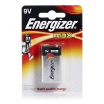 Battery, Energizer, MAX, Multipurpose Battery, 9V