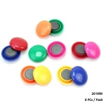 Boards, Trident, Magnetic Signal, Round (20mm), 6 PCs/Pack, Assorted Color