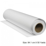 Paper Roll, Paper roll inkjet premium, 80 GSM, 84.1 cm X 50 Yards, White, A0