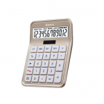 Calculator, COMIX, C-8S, 12 digits, Gold, Office