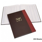 Notebook, Bassile Freres, Journal Book, 3 Columns, B4, 200 Sheets