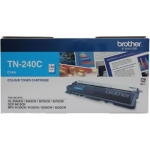 Brother TN 240 Cyan Toner Cartridge (TN240C)