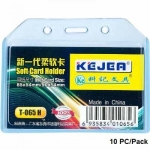 Badges & Holders, KEJEA, Soft Card Holder T-065 H,Ssize: 85*54mm, Plastic, 10 PC/Pack