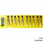 Glue, UHU, All Purpose Adhesive, 7 ML, 30 PCs/Pack