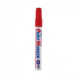 Paint Marker, Artline, 400XF, Round Tip, 2.3 mm, Red
