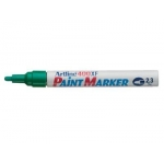 Paint Marker, Artline, 400XF, Round Tip, 2.3 mm, Green