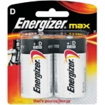 Battery, Energizer, MAX, Multipurpose Battery, D, 1.5 V