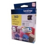 Brother LC563 Yellow Ink Cartridge (LC563Y)
