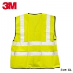 Safety Zone, 3M, Safety Vest, Yellow, Size: XL