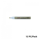 Paint Marker, Uni-Ball, PX-20, Round Tip,2.2 - 2.8mm, Gold, 12 PC/Pack