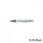 Paint Marker, Uni-Ball, PX-20, Round Tip,2.2 - 2.8mm, Green, 12 PC/Pack