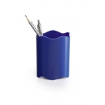 Desk Organizer, DURABLE, Pen Cup, Single pen Hole, Plastic, Blue